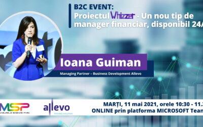 B2C | Proiectul Whizzer – un nou tip de manager financiar, disponibil 24/7