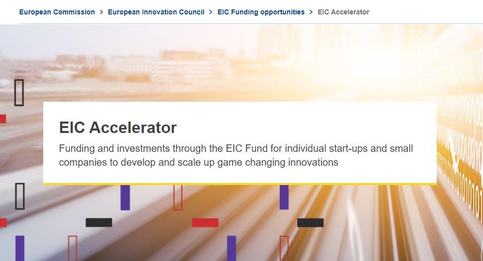 EIC Accelerator: Extinderea inovațiilor cu impact ridicat