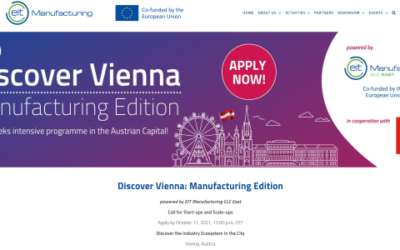 """Înscrie-te în Programul """"Discover Vienna: Manufacturing Edition"""""""